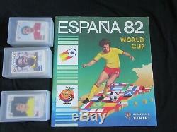 Panini Espana 82. Set complet de stickers + album vide. RARE! Komplett set