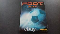 Panini Foot 2001 championnat de France complet + copie du set transfert à coller