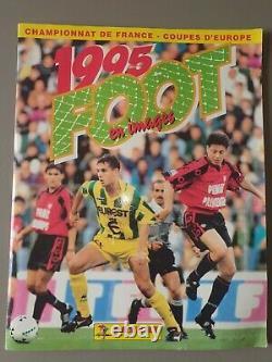 Panini Foot 95- Album de football ALBUM COMPLET Très bon état général
