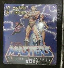 Panini Maitres de l'univers MOTU Set complet des images à coller sous cellophane