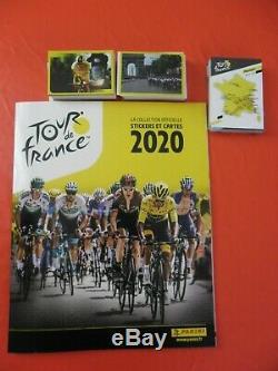 Panini Tour De France 2020 Album complet avec 384 stickers à coller+44 cartes