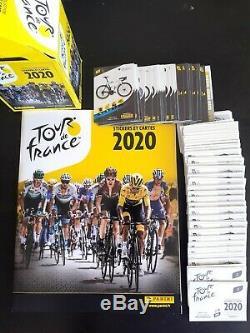 Panini Tour de France 2020 Album Complet 384 Images Stickers a coller + 44