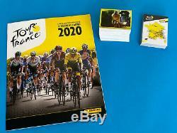 Panini Tour de France 2020 Album complet avec 384 stickers a coller + 44 cartes