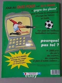 Panini foot 92 Album de football imagé COMPLET en bon état