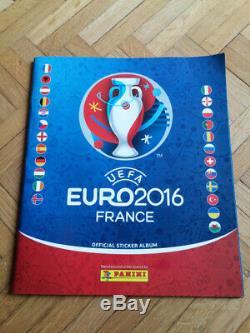 Panini foot lot de 5 set complet euro 2012 2016+wc 2010 2014 2018