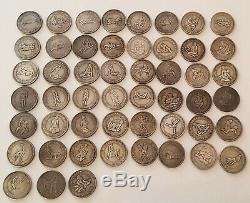 Pièces de monnaie fantaisie-collection complète érotique kamasutra-51-rare-Hobo