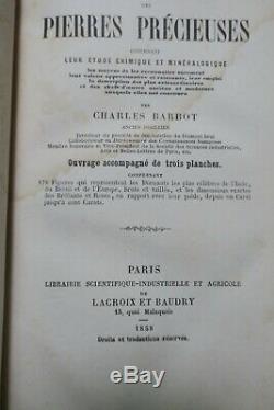 Pierre BARBOT Traité complet des pierres précieuses. 1858