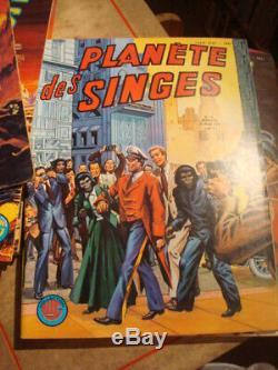 Planète des Singes Collection LUG Complet 19 numéros février 1977 août 1978