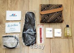 Pochette / trousse de toilette homme Concorde Air France complète NEUVE