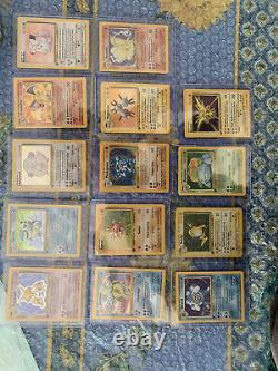 Pokémon 120 Cartes Pokémon Set De Base Édition 1, Série quasi Complète 92/102