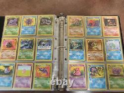 Pokemon CARD Set De Base Jungle Complete + Fossil Etc. FRENCH