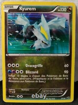 Pokemon Coffre Des Dragons Complet 21/20 Noir Et Blanc 2012