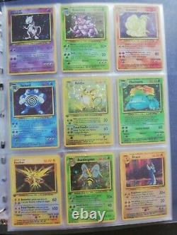 Pokemon Full Set De Base FR carte Française Complet 102/102
