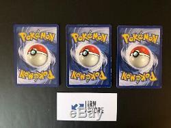 Pokemon Série Set de base ed1 complete Français Dracaufeu Tortank 102/102