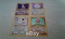Pokemon Set De Base 102 Cards Complete Set. 1999 Jouees Played