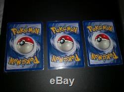 Pokemon, Set de Base edition 1 complet, bon état et mieux