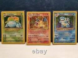 Pokémon Set de base COMPLET 1999 + Antique Mew