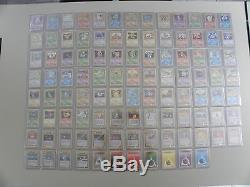 Pokemon set de base Bloc Wizard complet 102/102 édition 1