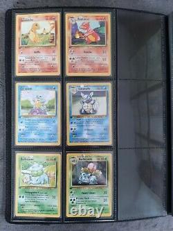 Pokemon set de base ed1 edition série quasi complète PCA