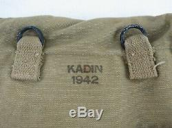 Porte carte 1942 KADIN COMPLET NEUF DE STOCK ORIGINAL US WWII WW2 39 45