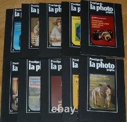 Prestige De La Photographie Collection Complete 10 Numeros Excellent Etat