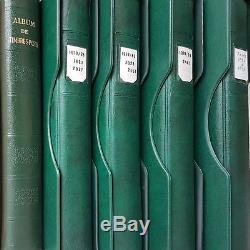 Prix en Baisse Collection Complète Timbres de France Neufs de 1937 à 1999