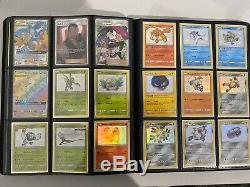 Pro Binder Avec + De 300 Cartes Pokemon Xy & Sl Series Xy12 + Sl11.5 Completes
