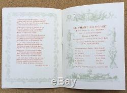 Programme Complet Banquet des Maires de France Exposition Universelle 1900