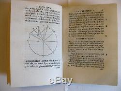 Ptolémée Commandino Liber de analemmate 1562 EO complet cadran solaire géométrie