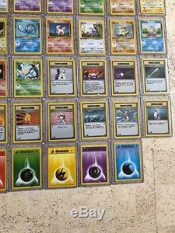 (QUASI-COMPLET)(Prix À Débattre)Set De Base Edition 1 Carte Pokémon