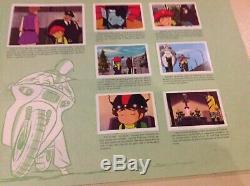 RARE Album Vignettes Le Retour De Goldorak 1982 Éditions age Sticker Complet