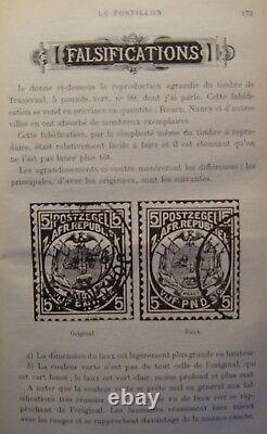 RARE Collection complète LE POSTILLON de A. MONTADER en 5 volumes reliés