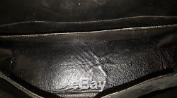 RARE! De Collection HERMES Kelly 32 box noir de 1945 Vintage Complet Bel état