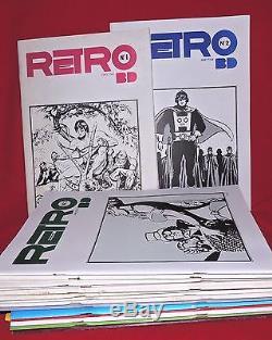 RETRO BD lot des n°1 à 17. 1978 -1979. Collection complète en parfait état