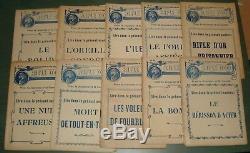 RIFLE D'OR Jules de Gastyne Ferenczi Collection complète Bon état
