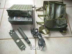 Radio militaire ER 247 A complet armée de l'air, belle présentation