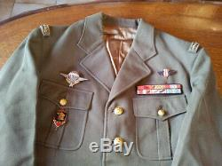 Rare Ancien Uniforme De General Complet Avec Son Kepi Idem De Gaulle Collection