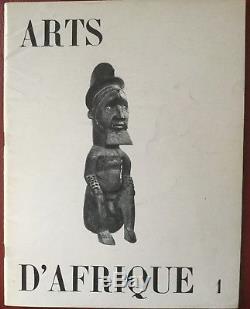 Rare Collection Complete De La Revue Arts D'afrique Noire De R. Lehuard