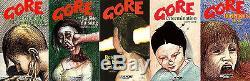 Rare Eo Série Complète 10 Livres Collection Gore Couvertures De Roland Topor