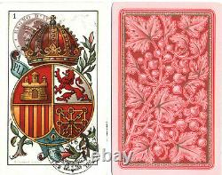 Rare. JEU DE 48 CARTES. NAIPES. CARDS. COMPLET. TBE. FRANCFORT. TORINO (1910)