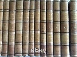Rare Oeuvre Complete De M Le Vicomte De Chateaubriand 22 Volumes 1836