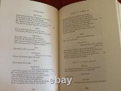 Rare Oeuvres Completes De Moliere Edition D'art Piazza Numerote & Illustre