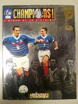Rare Panini Champions 98 L'album De La Victoire Complet Etat Exceptionnel