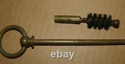 Rare baguette de nettoyage revolver Mle 1892 matriculée complète avec écouvillon