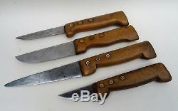 Rare boutique de boucher complète et ses couteaux boucherie