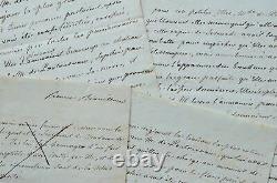 Rare manuscrit complet d'une nouvelle inédite de Mme Campan
