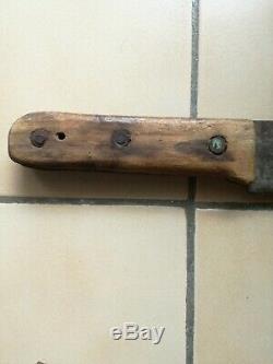 Rare outil de tirailleurs sénégalais complet avec fourreau, 24e RTS, Perpignan
