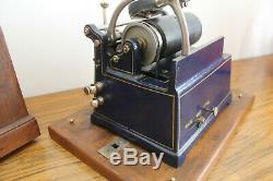 Rare phonographe gramophone complet de tout ses éléments 100% origine MENESTREL