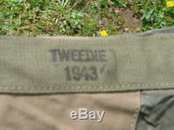 Rare tente de montagne US WW2 datée 1943 et complète