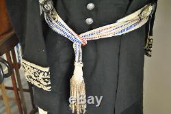 Rare tenue complète de Préfet, date de 1920, avec provenance, superbe état